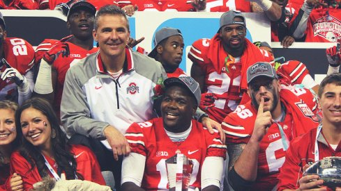 Ohio State after the Big Ten title game.