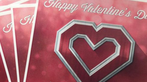Ohio State's coaching staff sent out Valentine's Day cards to the mothers of 2016 prospects.