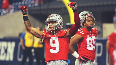 Devin Smith at the Big Ten Championship