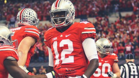 Cardale Jones and his teammates took Wisconsin to the woodshed in the first half of the Big Ten Championship.