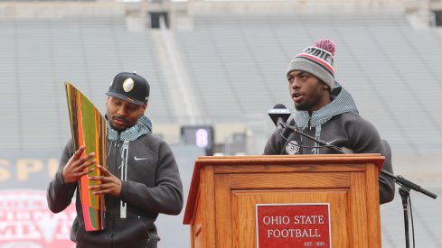 Braxton Miller and J.T. Barrett