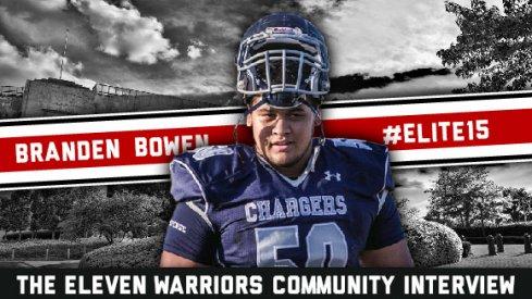 Branden Bowen is a Buckeye signee