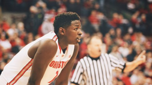 Jae'Sean Tate is one of Ohio State's key players.