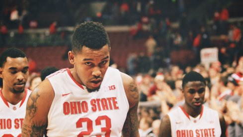 Amir Williams will play his final home game.