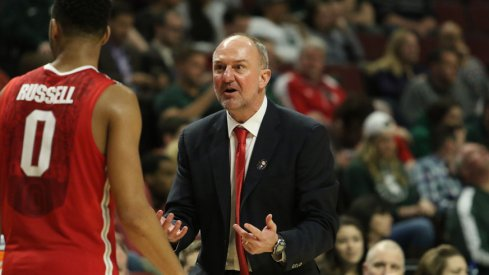 D'Angelo Russell and Thad Matta