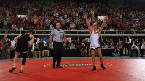Logan Stieber will try for a historic fourth NCAA crown this weekend.