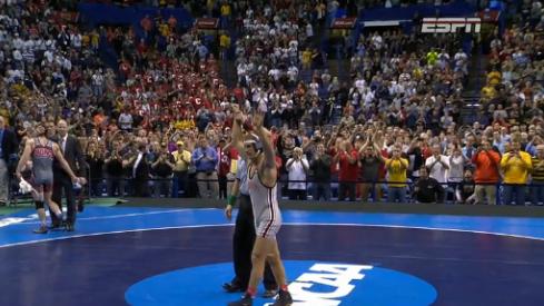 Logan Stieber, champion