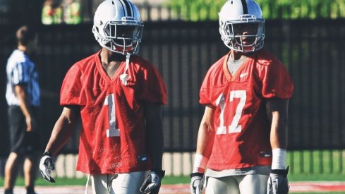 Dontre Wilson and Jalin Marshall form a dynamic duo at the H-Back spot.