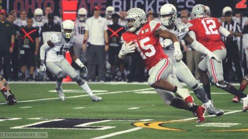 Ezekiel Elliott should lead Ohio State in rushing again, if healthy.