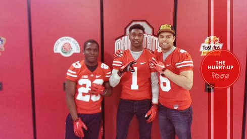 Sibley, Morris and Clark at Ohio State today