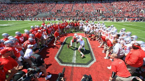 It still seems strange to watch the scarlet and gray match up against one another