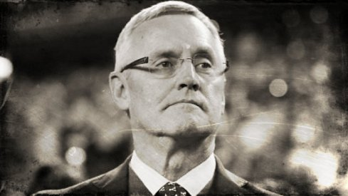 Hi Haters: Hall of Famer Jim Tressel - under show cause - at the 2015 National Championship