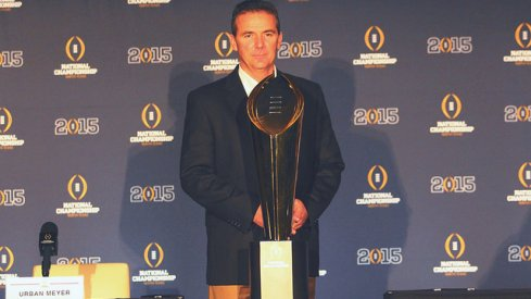 Urban Meyer, three-time world champion.