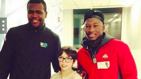 Cardale Jones, Jared Foley, and Johnnie Dixon