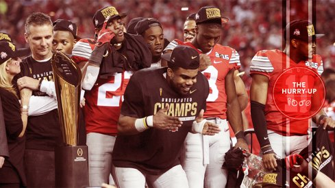 Buckeyes celebrating national title