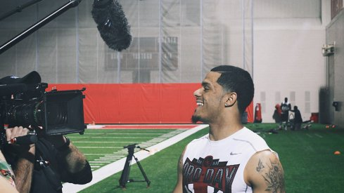 Devin Smith will attend the NFL Draft in Chicago.