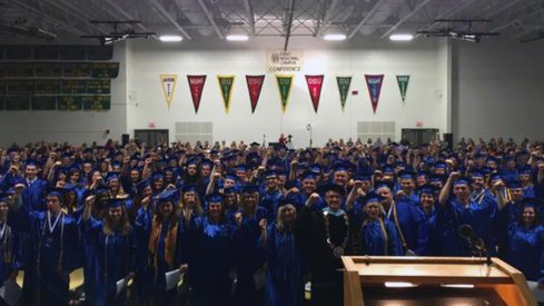 Zane State College Graduation Ceremony