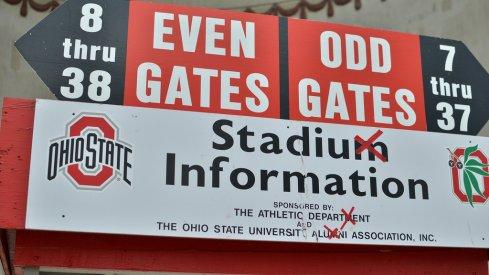 Ohio Stadium will always been in Ohio State's plans, Gene Smith said.