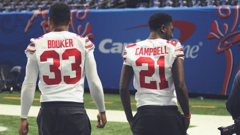 Dante Booker and Parris Campbell