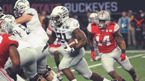 Few Oregon runs made it past the OSU front line that night