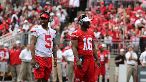 Braxton Miller (left) and J.T. Barrett (right)