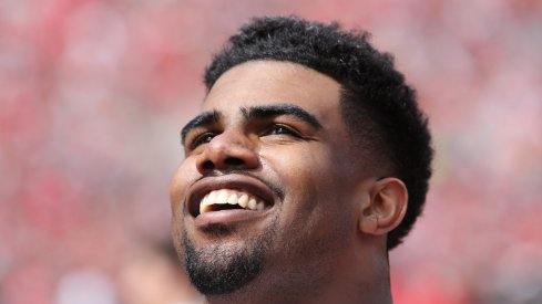 Ezekiel Elliott is all smiles.