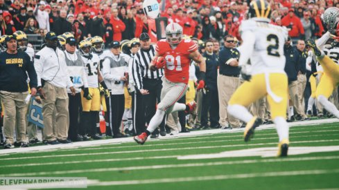 Tight end Nick Vannett is one of the most underrated Ohio State Buckeyes.
