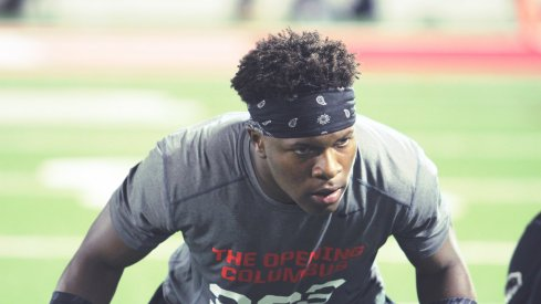 Lamont Wade at The Opening regional in Columbus.