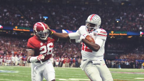 Cardale Stuffs Landon Collins