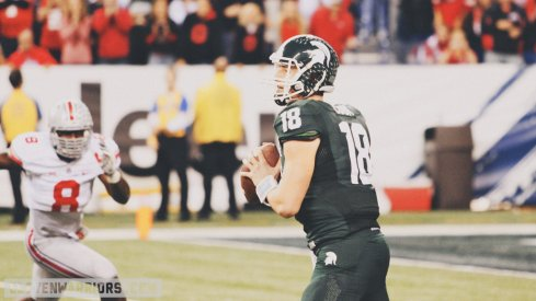 Connor Cook will lead the Spartans in 2015.