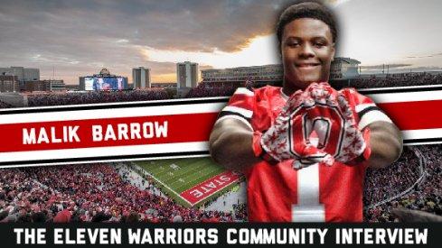Malik Barrow steps into the 11W Community Interview hotseat