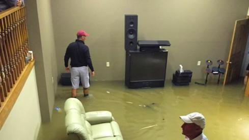 Urban Meyer under water.