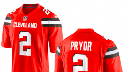 Terrelle Pryor Cleveland Browns jerseys