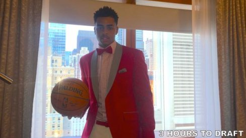 D'Angelo Russell's Silky Suit