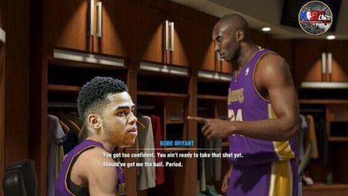 D'Angelo Russell will love learning from Kobe Bryant. Unless he hates it.