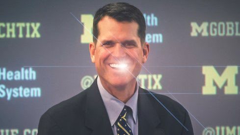 Harbaugh and Michigan are all smiles.