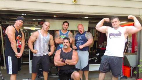 Brian peters, Zach Boren, John Simon, Curt Smith, and Corey Linsley.