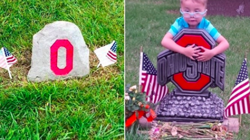Anonymous Donor Replaces Stolen Ohio State Headstone