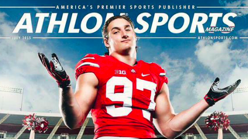 Joey Bosa on the Athlon Cover