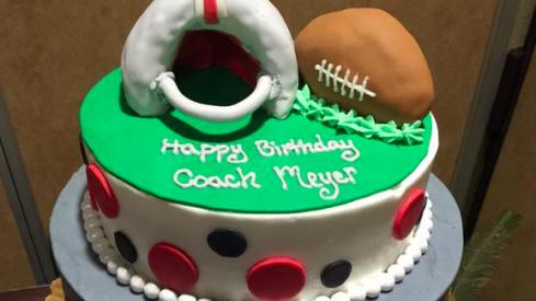Undisputed Birthday Cake
