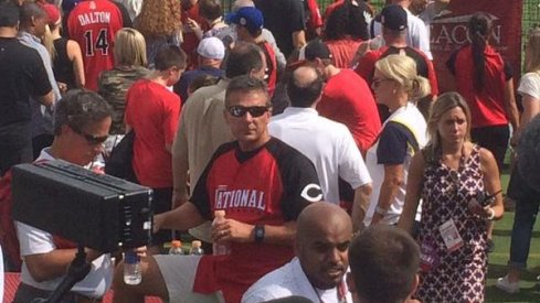 Urban Meyer's just chilling out.