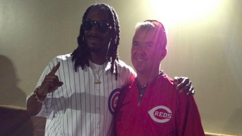 Urban Meyer and Snoop Dogg
