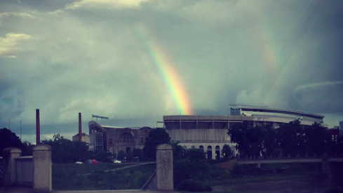 Where else would you expect the pot of gold to be in Columbus?