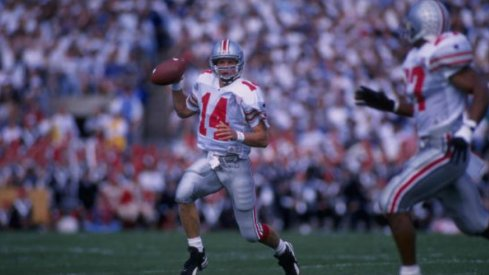 Bobby Hoying rewrote the OSU record books in the 1990s.