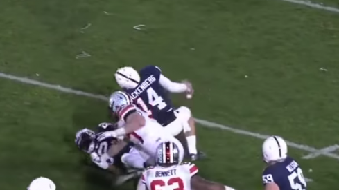 Joey Bosa seals the Penn State game.