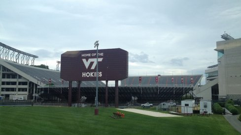 Lane Stadium in Blacksburg: Site of the September 7th clash between Virginia Tech and Ohio State.