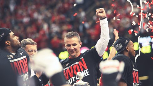 Urban Meyer celebrated a national title last year