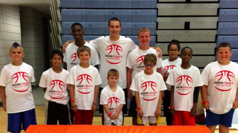 Aaron Craft loves the kids.