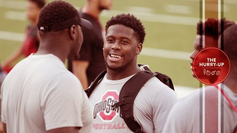 Antwuan Jackson at Ohio State for Friday Night Lights.
