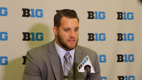 Taylor Decker's style was on point for Media Days in Chicago.